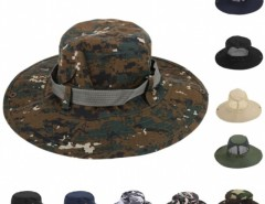 New Fashion Men Outdoors Cap Sunscreen Fishing Round Camouflage Pattern Hat Cndirect bester Fashion-Online-Shop aus China