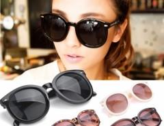 Men Women Retro Fashion Arrow Style Eyewear Round Frame Sunglasses Unisex Cndirect bester Fashion-Online-Shop aus China