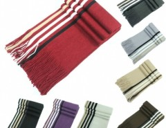 New Men Knit Scarf Stole Shawl Wrap Striped Fringed Long Soft Warm Winter Cndirect bester Fashion-Online-Shop aus China