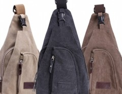 New Men's Fashion Satchel Shoulder Bag New Tide Diagonal Canvas Multi-function Bag Cndirect bester Fashion-Online-Shop aus China