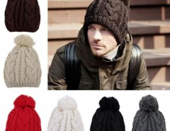 Stylish New Women's Men's Unisex Knit Winter Warm Ski Skating Soft Cap Hat Cndirect bester Fashion-Online-Shop aus China