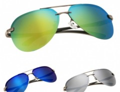 Hot Fashion Men Polarize Metal Frame Round Casual Outdoor Sunglasses Cndirect bester Fashion-Online-Shop aus China