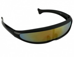 New Fashion X-Men Style Fish Shaped Laser Casual Sunglasses Cndirect bester Fashion-Online-Shop aus China