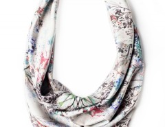 Scarf - Blossom Silver Carnet de Mode bester Fashion-Online-Shop