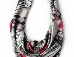 Scarf - Flamingo Pink Carnet de Mode bester Fashion-Online-Shop