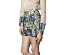 Shorts - African Printed Carnet de Mode bester Fashion-Online-Shop