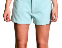 Shorts - Faux Suede - Blue Carnet de Mode bester Fashion-Online-Shop