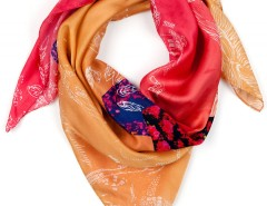 Silk scarf - Fire - medium Carnet de Mode bester Fashion-Online-Shop