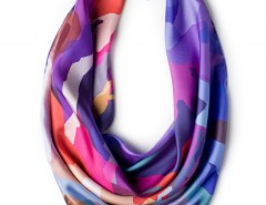 Silk scarf - Mountain Rainbow Carnet de Mode bester Fashion-Online-Shop