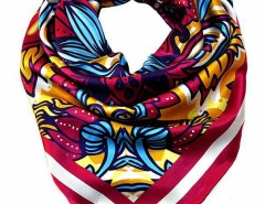 Spring Floral Printed Silk Scarf Carnet de Mode bester Fashion-Online-Shop