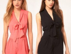 Spring Summer Chiffon Jumpsuits Overalls