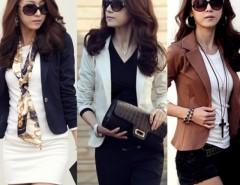 Spring Women's Slim Short Blazer Suit Jacket Coat Outwear Cndirect bester Fashion-Online-Shop China