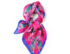 Square Scarf Fushia Chorus Carnet de Mode bester Fashion-Online-Shop