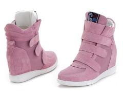 Supra Pink Patch Velcro Strap Sneakers Choies.com bester Fashion-Online-Shop Großbritannien Europa