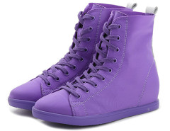 Supra Purple Lace Up Sneakers Choies.com bester Fashion-Online-Shop Großbritannien Europa