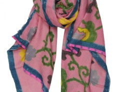 Tashkent Flower Printed Cashmere Pashmina Carnet de Mode bester Fashion-Online-Shop