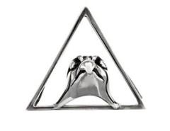 The Falcon Silver Clip Carnet de Mode bester Fashion-Online-Shop