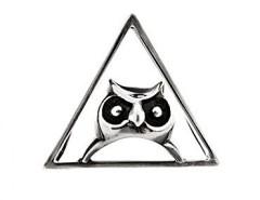 The Silver Owl Clip Carnet de Mode bester Fashion-Online-Shop