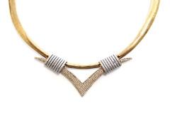 The V Collar Necklace MrKate.com bester Fashion-Online-Shop aus den USA