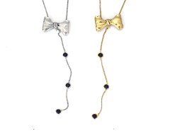 Tuxedo Convertible Necklace MrKate.com bester Fashion-Online-Shop aus den USA