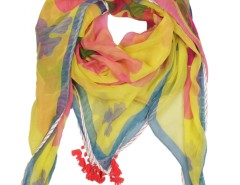 Urgut Flower Printed Silk Scarf Carnet de Mode bester Fashion-Online-Shop