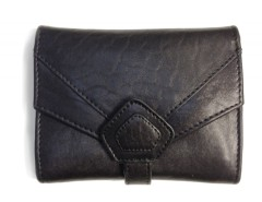 WALLET - CREAMY - BLACK Carnet de Mode bester Fashion-Online-Shop