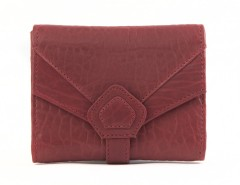 WALLET - CREAMY - Red Bubble Leather Carnet de Mode bester Fashion-Online-Shop