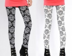 Women Elastic Printing Pencil Pants Stretch Skinny Leggings Cndirect bester Fashion-Online-Shop China