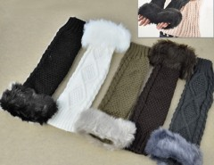 Women Faux Fur Fingerless Gloves Cndirect bester Fashion-Online-Shop China
