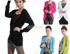 Women Multi Color Knitting Long Cardigan Snap Fastener Big Size Cndirect bester Fashion-Online-Shop China