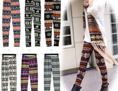 Women Snowflake Reindeer Knitted Leggings Tights New Arrival Sexy Leggings Cndirect bester Fashion-Online-Shop China