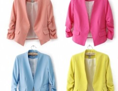 Women Suite Outerwear 3/4 sleeve Coat Mini Blazer Cndirect bester Fashion-Online-Shop China
