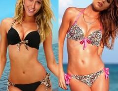 Women Swim Sexy Push-up Halter Top Bikini Set Swimsuit Cndirect bester Fashion-Online-Shop China