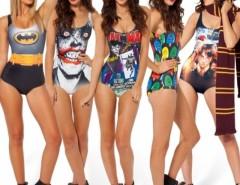 Women Swimwear Underwear Monokini Bikini Swimsuit Stylish Pattern Print Cndirect bester Fashion-Online-Shop China