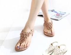 Women T-strap Flip-flop Shoes Flats Sandals Cndirect bester Fashion-Online-Shop China