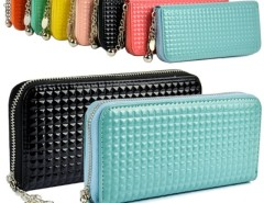 Women Zip Colorful Clutch Case Lady Long Handbag Wallet Purse Cndirect bester Fashion-Online-Shop China