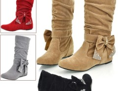 Women's Boots Bow Decoration Shoes Cndirect bester Fashion-Online-Shop China
