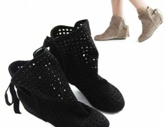 Women's Cut-outs Boots Inside High Heeled Shoes Cndirect bester Fashion-Online-Shop China