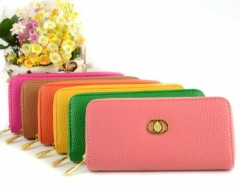 Women's Embossed Synthetic Leather Purse Wallet Card Bag Cndirect bester Fashion-Online-Shop China