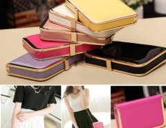 Women's HandBag Hard Cover Bag Purse Clutch Wallet Cndirect bester Fashion-Online-Shop China