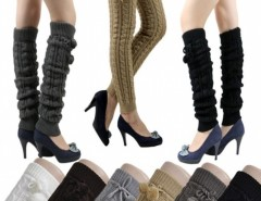 Women's Knit Crochet Winter Leg Warmer Leggings Socks Ball Cndirect bester Fashion-Online-Shop China