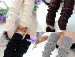 Women's Knit Crochet Winter Leg Warmer Socks Cndirect bester Fashion-Online-Shop China