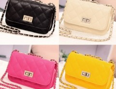 Women's Leather Cute Mini Cross Body Chain Shoulder Bag Handbag Purse Cndirect bester Fashion-Online-Shop China