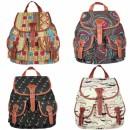 Women's Rucksack School Bag Satchel Canvas Backpack Cndirect bester Fashion-Online-Shop China
