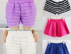Women's Ruffled Candy Color Shorts Hot Pants Bubble Pants Cndirect bester Fashion-Online-Shop China