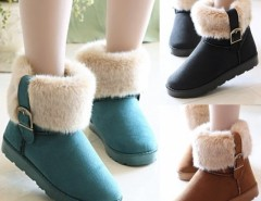 Women's Snow Boots Ankle Boots Warm Shoes Cndirect bester Fashion-Online-Shop China
