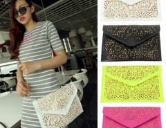 Women's Vintage Hollow Out Envelope Clutch Shoulder Cross Bag Cndirect bester Fashion-Online-Shop China