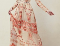 Bohemia Print Deep V Lace-Paneled Maxi Chiffon Dress OASAP bester Fashion-Online-Shop aus China