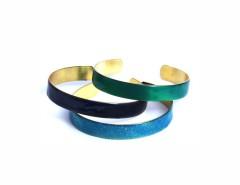 bracelet set - emerald