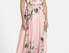 Charming Floral Printed Sleeveless Maxi Dress OASAP bester Fashion-Online-Shop aus China